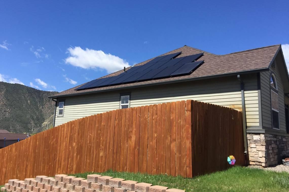 Solar Panel Installation in New Castle, CO - 1