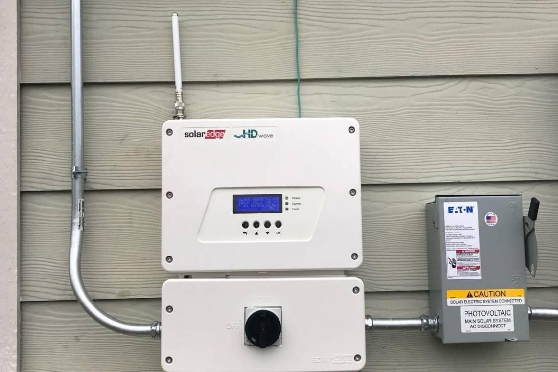 Solar Energy System in Houston, TX - SolarEdge Inverter ...