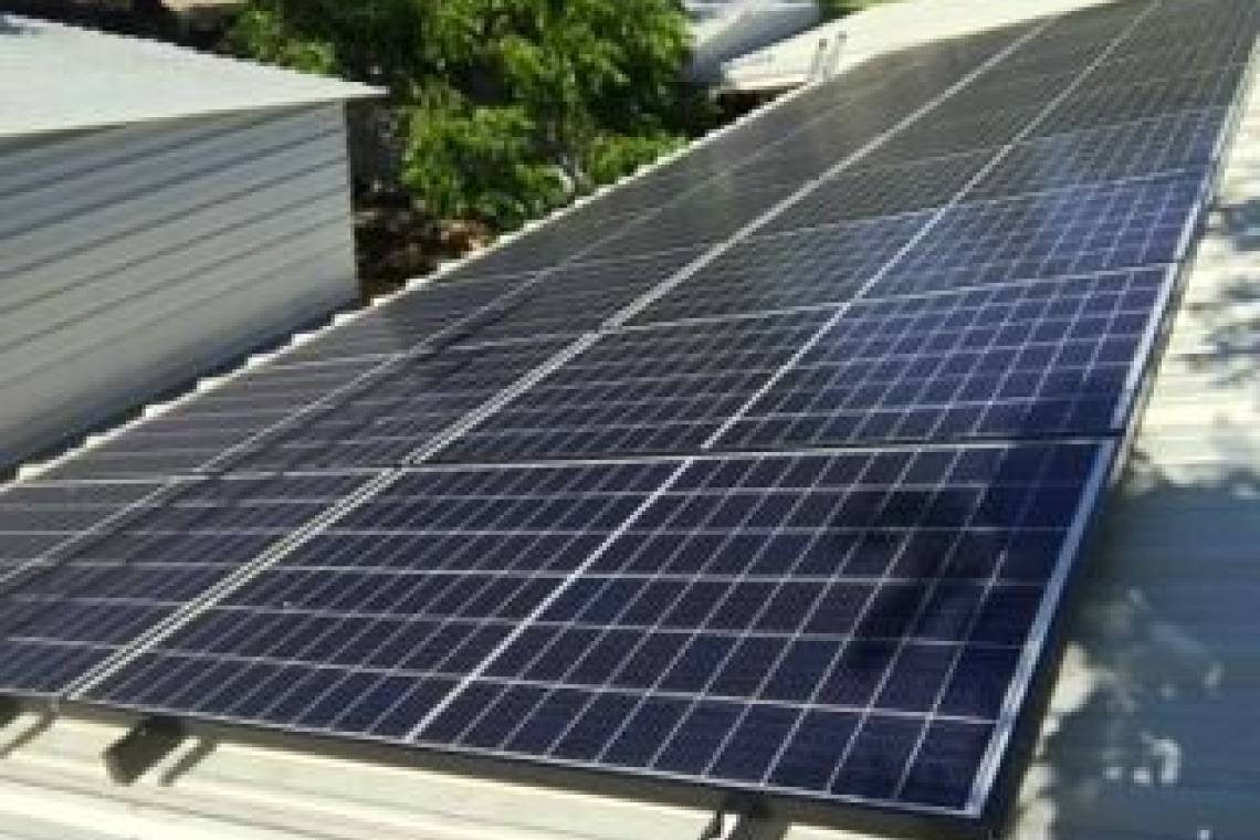 Corrugated Metal Roof Solar Panel Installation in Cisco, TX (5.8 kW) -