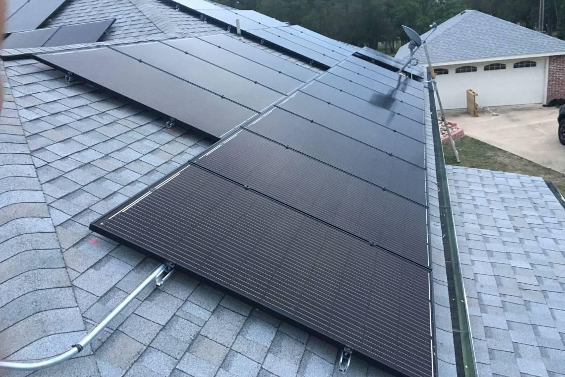 Residential Solar Install in Belton TX