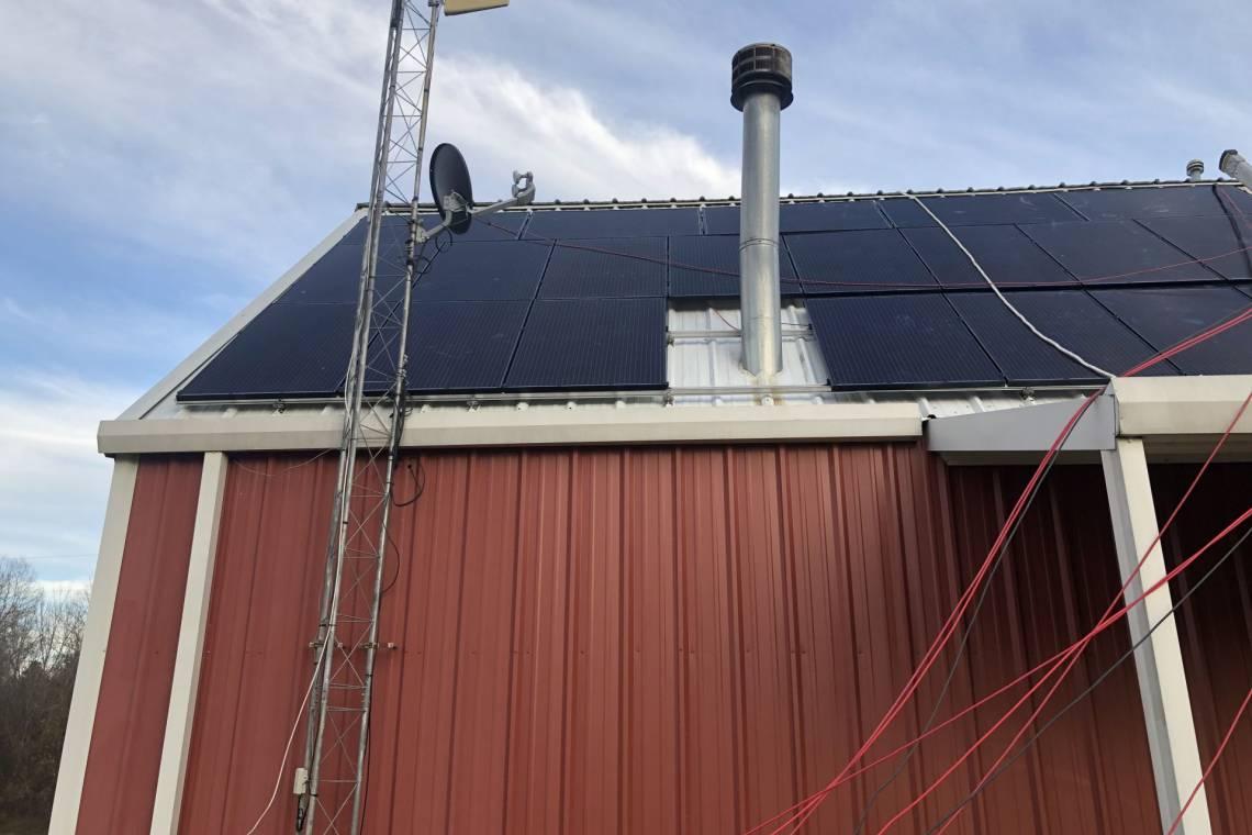 Roof Mount Solar Installation in Troupp TX
