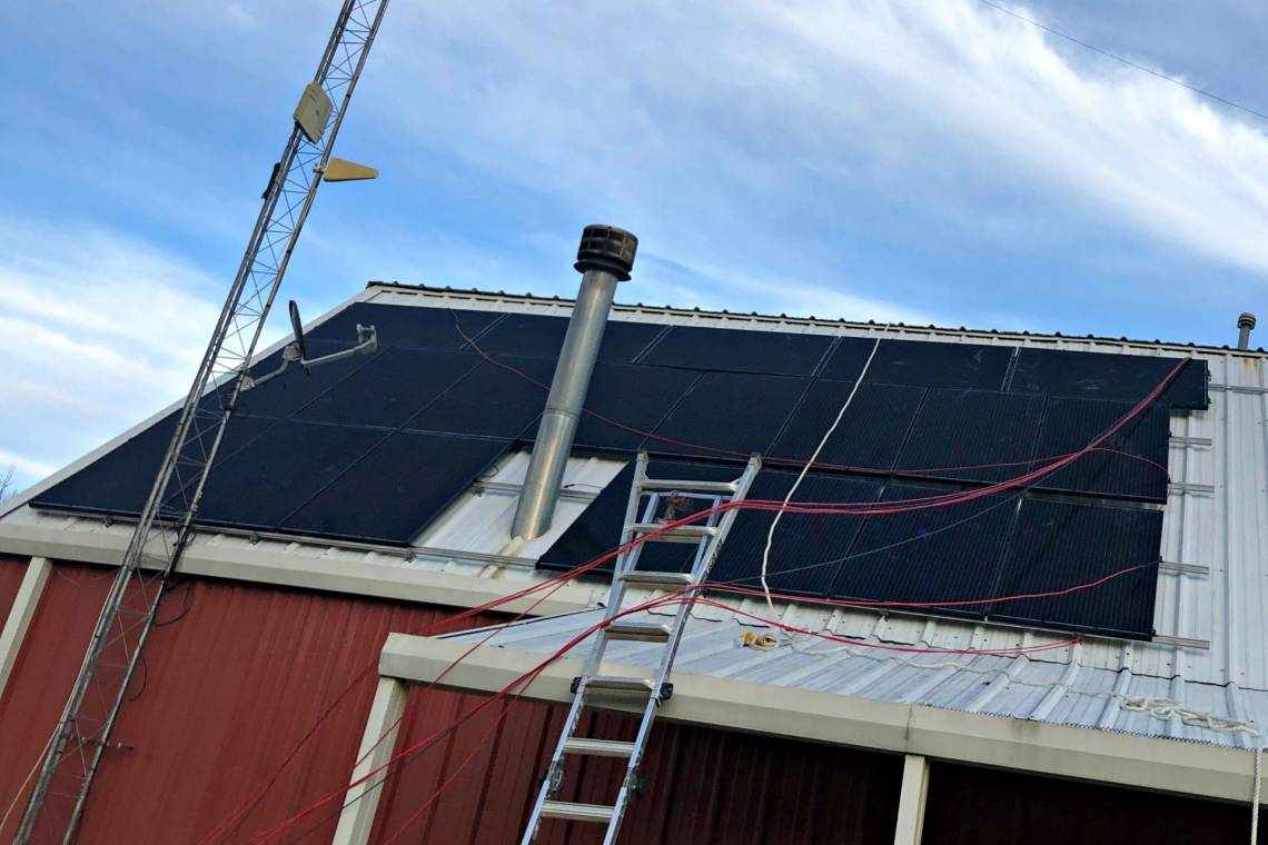 Roof Mount Solar Power System in Troupp TX