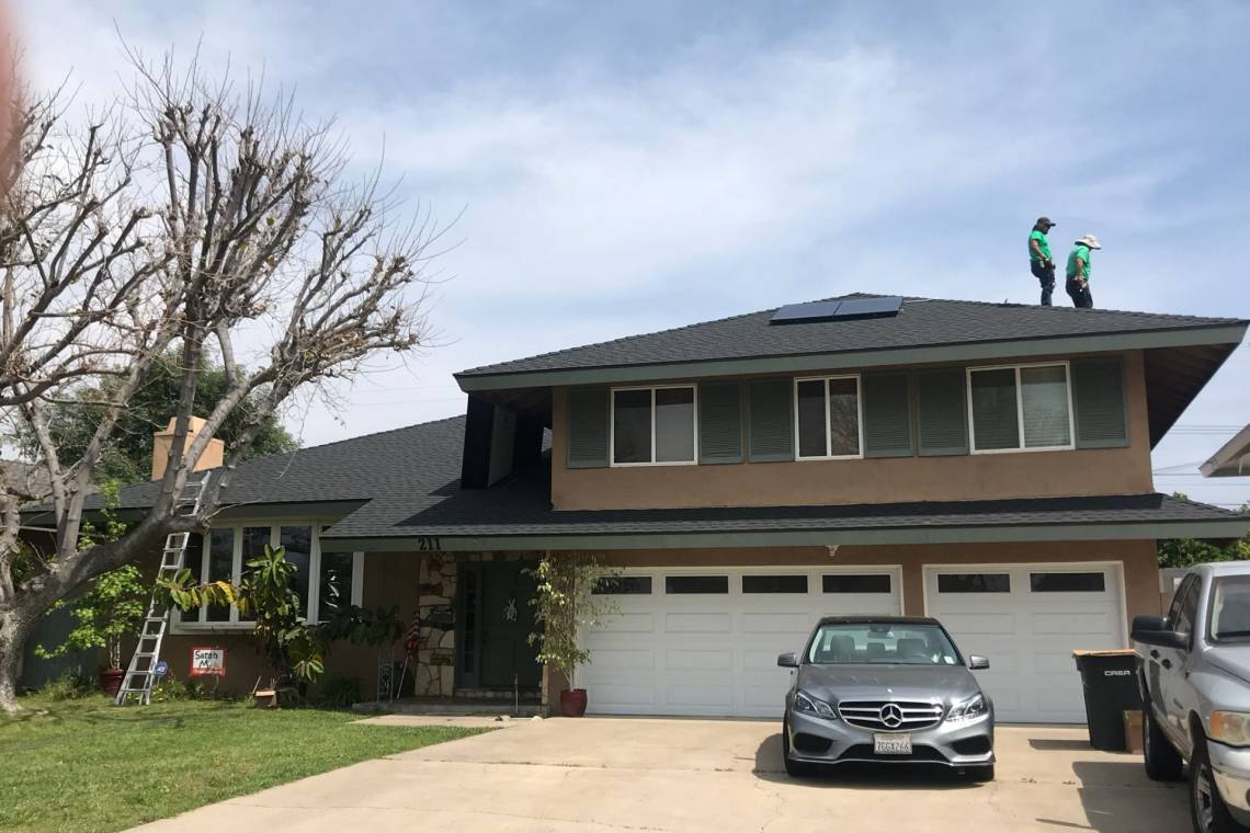 Rooftop Solar Power System in Orange CA