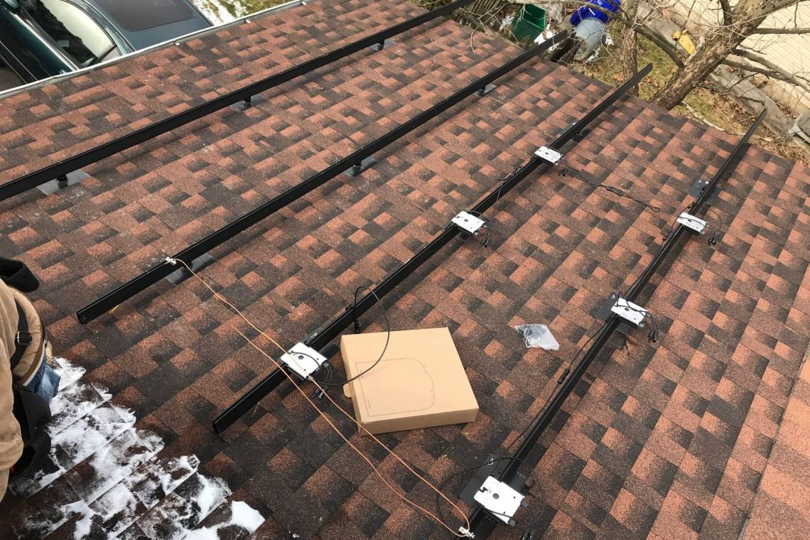 Rooftop Solar Racking in Reading PA