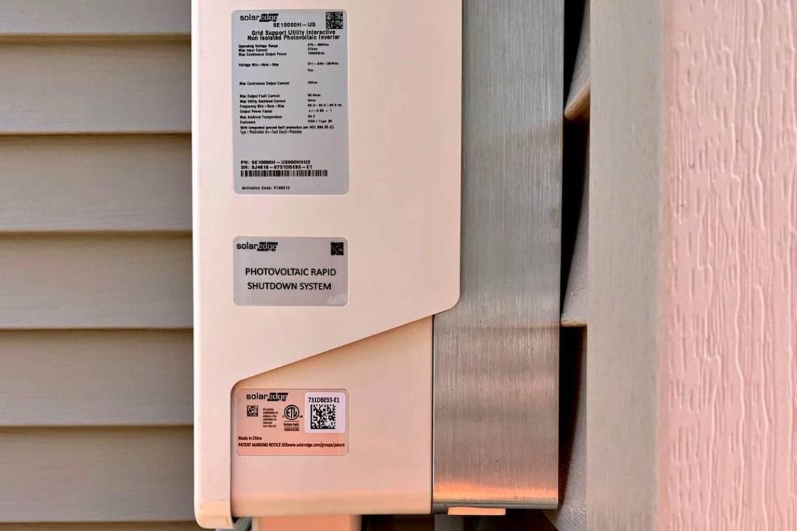 SolarEdge Inverter in Cary IL