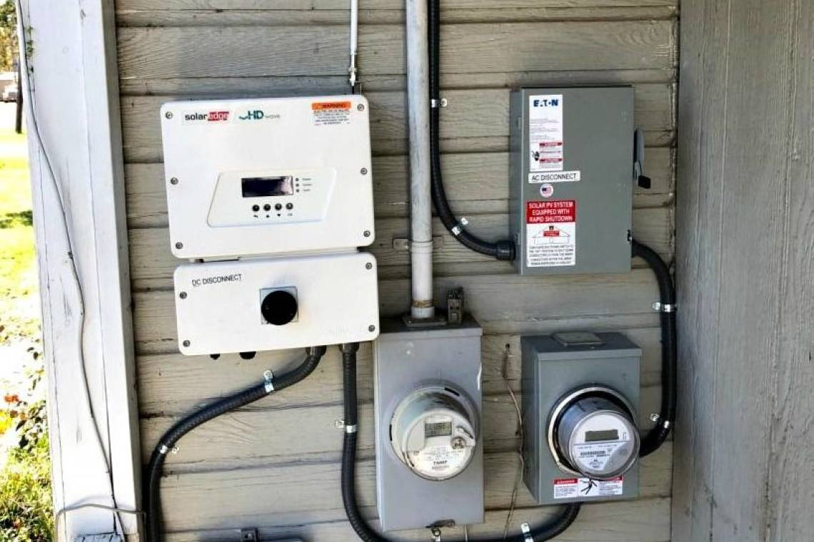SolarEdge Inverter in Pattonville TX
