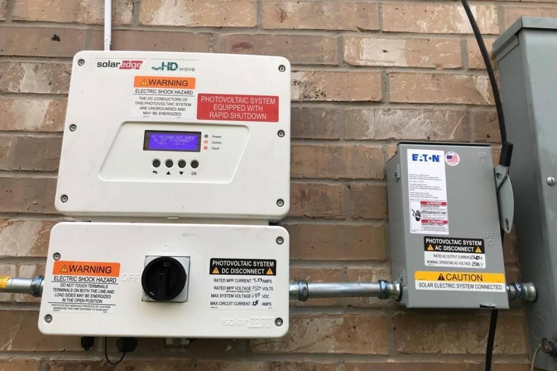 SolarEdge Inverter in Pearland TX