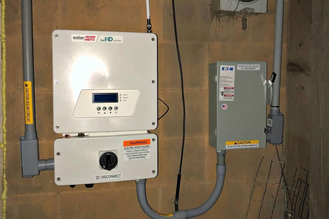 SolarEdge Inverter in Plover WI