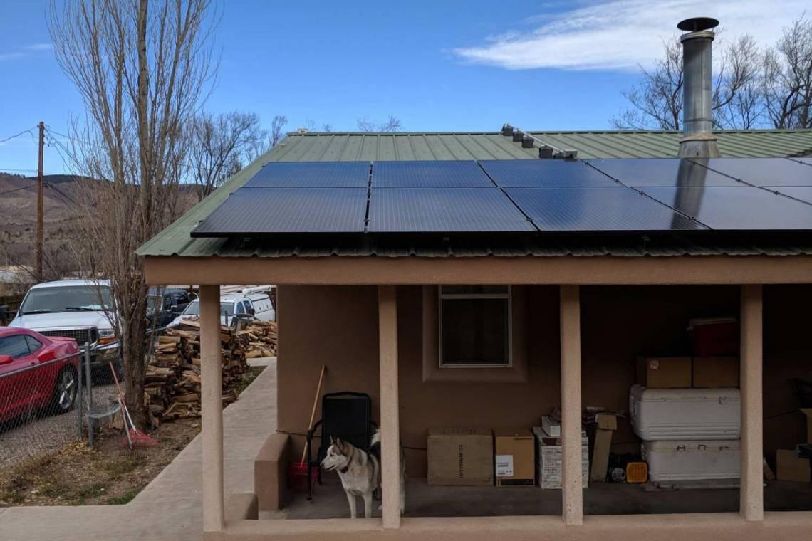 SolarWorld Panels in Ruidodo Downs, NM