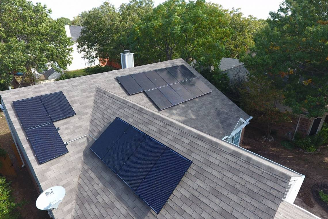 Solar Electric System in Fort Worth TX