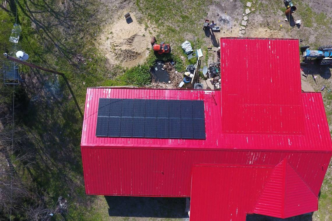 Solar Electric System in Quinlan TX