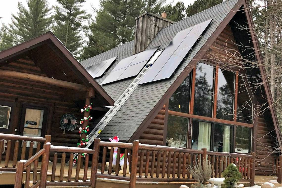 Solar Energy System Installation in Plover WI