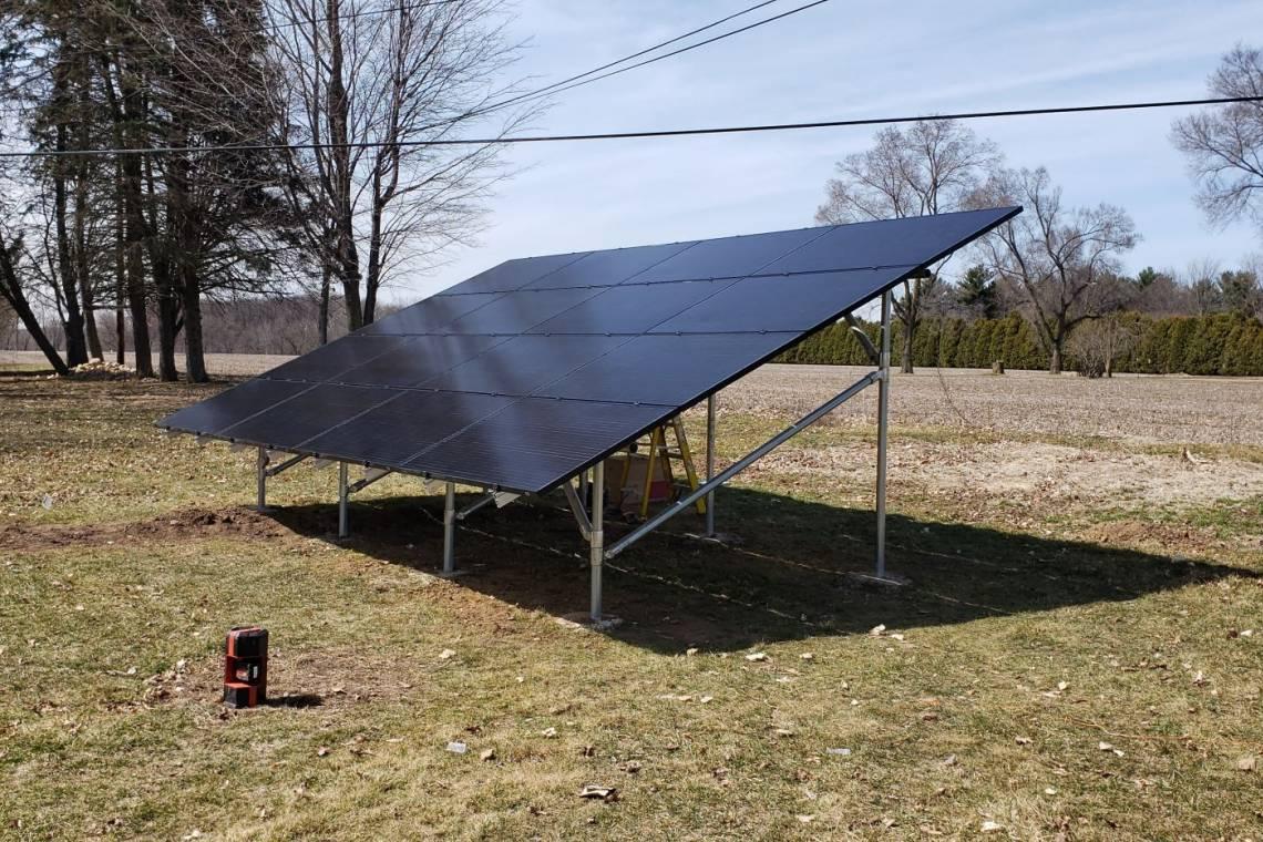 Solar Energy System in La Porte IN