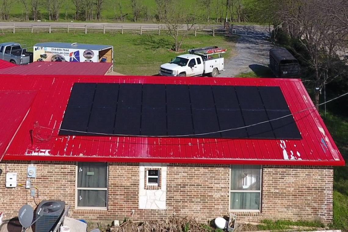 Solar Energy System in Quinlan TX
