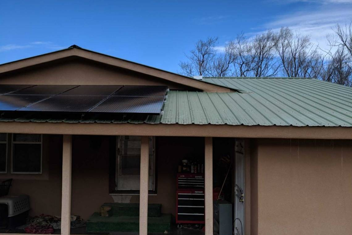 Solar Installation Ruidodo Downs, NM