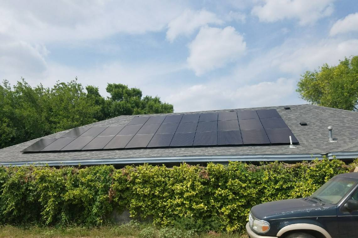 Solar Panel Install In Rio Grande City Tx Greensolartechnologies Wiring Photo Details Project Residential Installation
