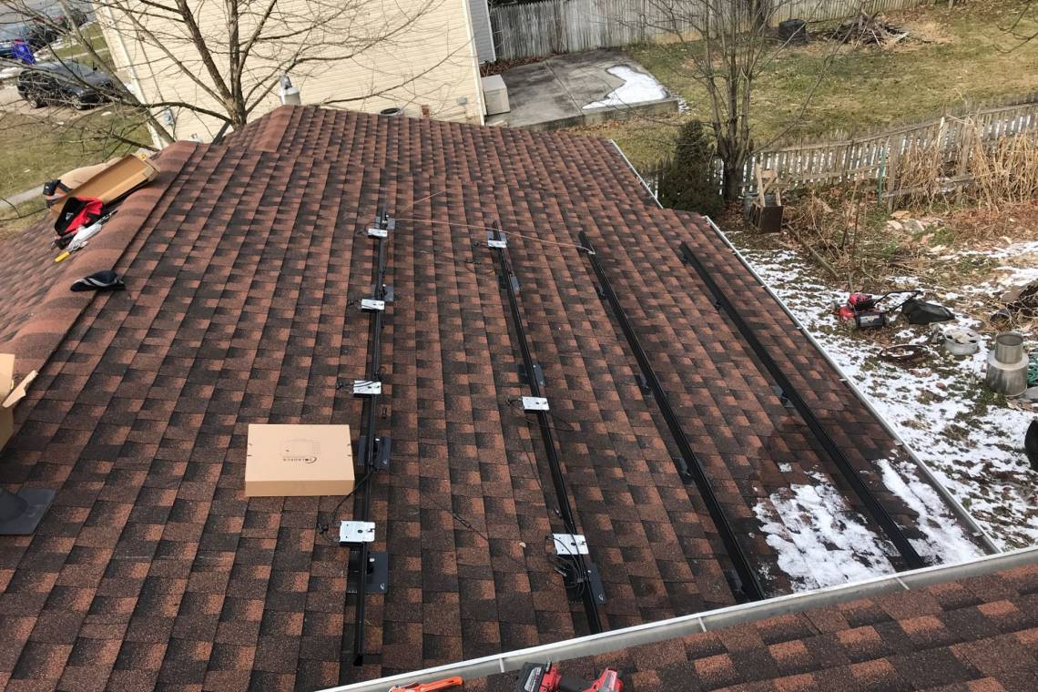 Solar Rack Mounting in Reading PA