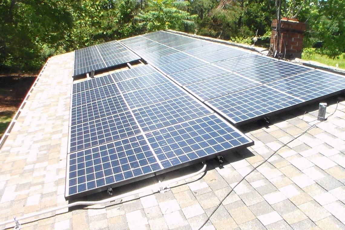 Roof Mount Solar Panel Installation In Elon Nc 1