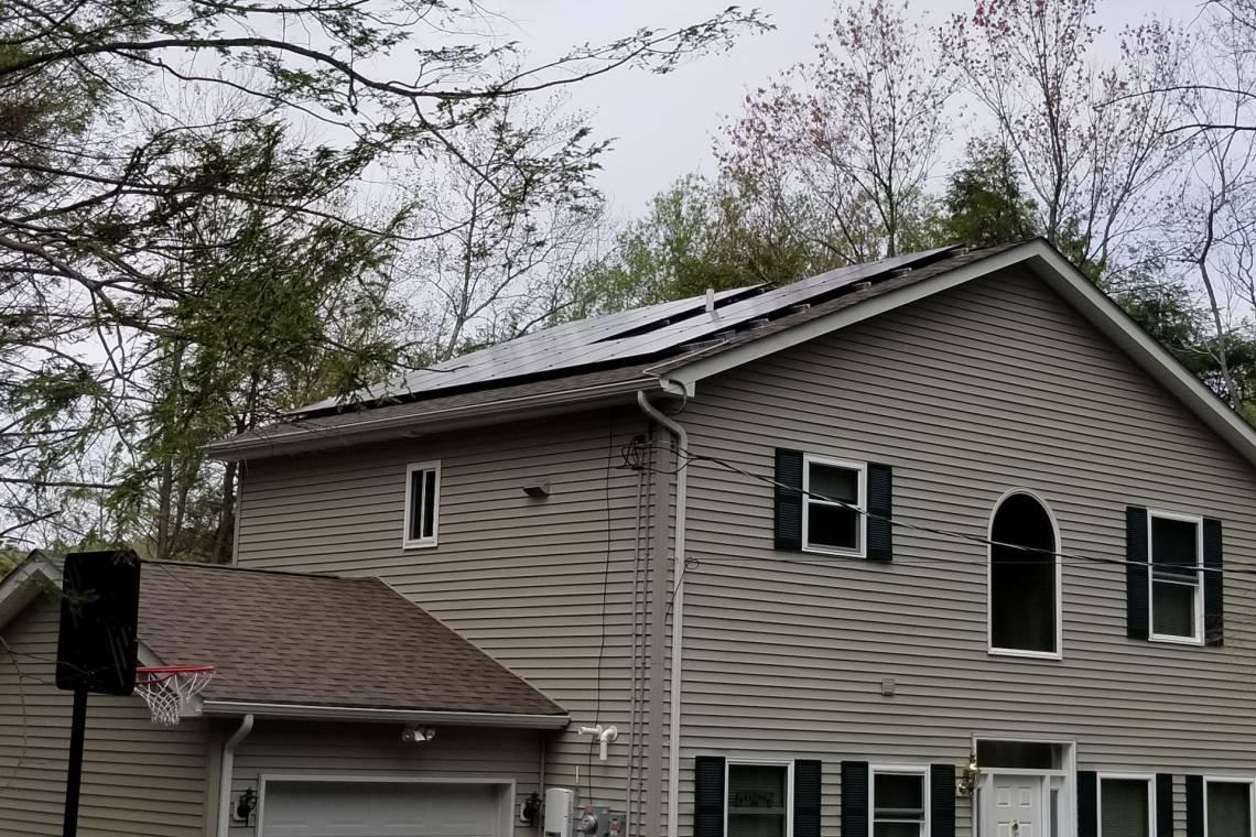 White Haven, PA Solar Panel Installation - 2