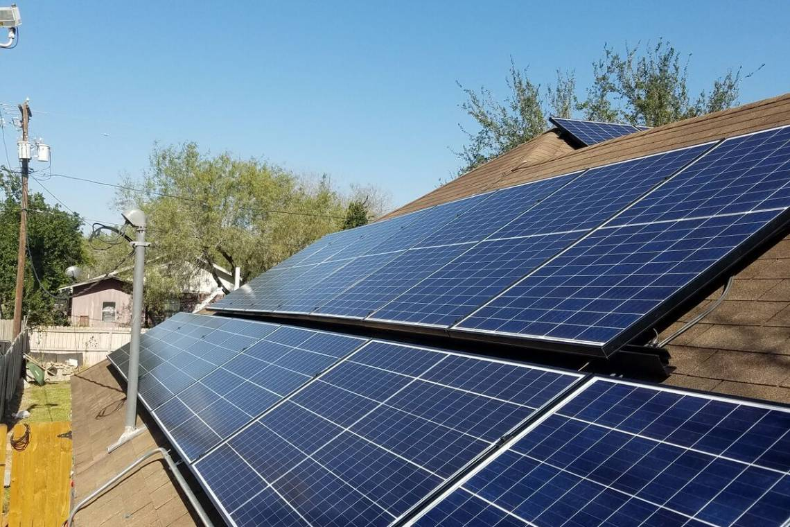 Solar Energy System in McAllen, TX - American-Made Panels