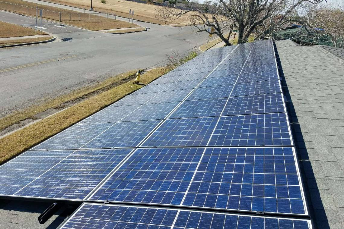 Solar Energy System in Corpus Christi  - SolarWorld Panels