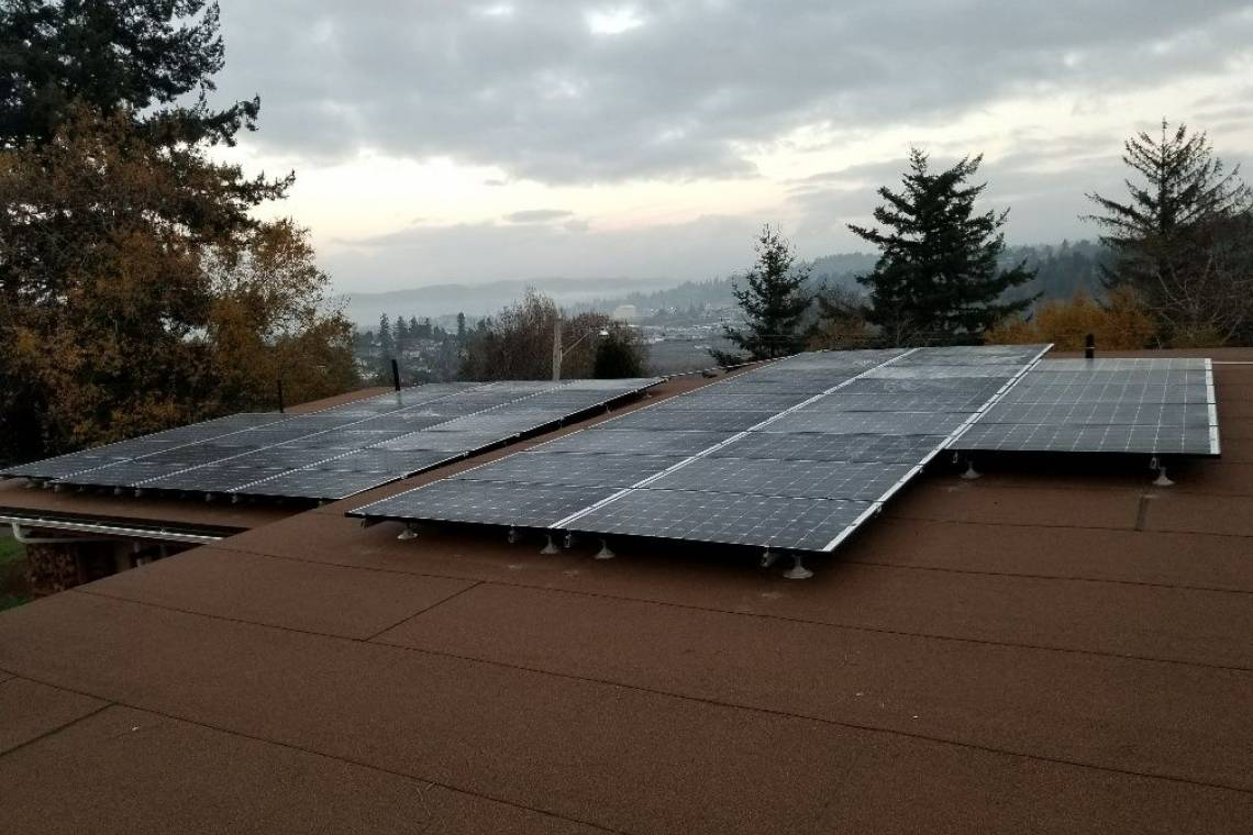 Solar Energy System in Crescent City, CA - SolarWorld Panels