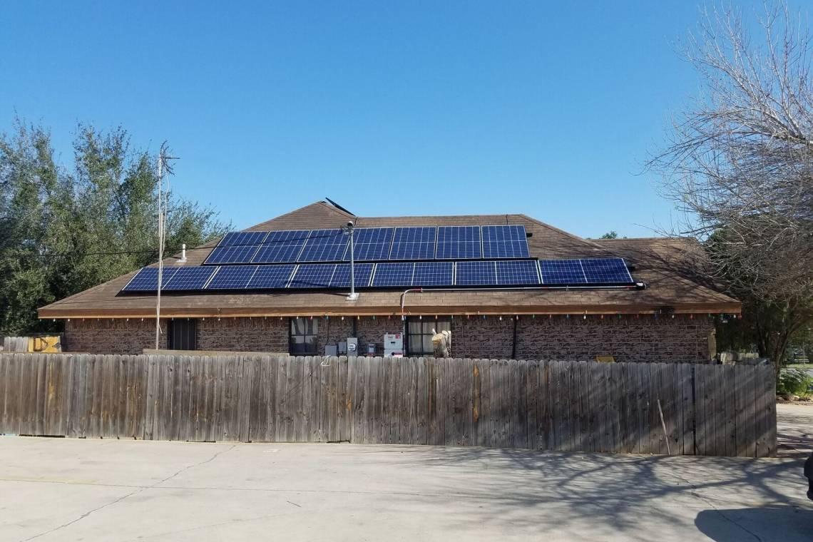 Solar Energy System in McAllen, TX - Residential Install