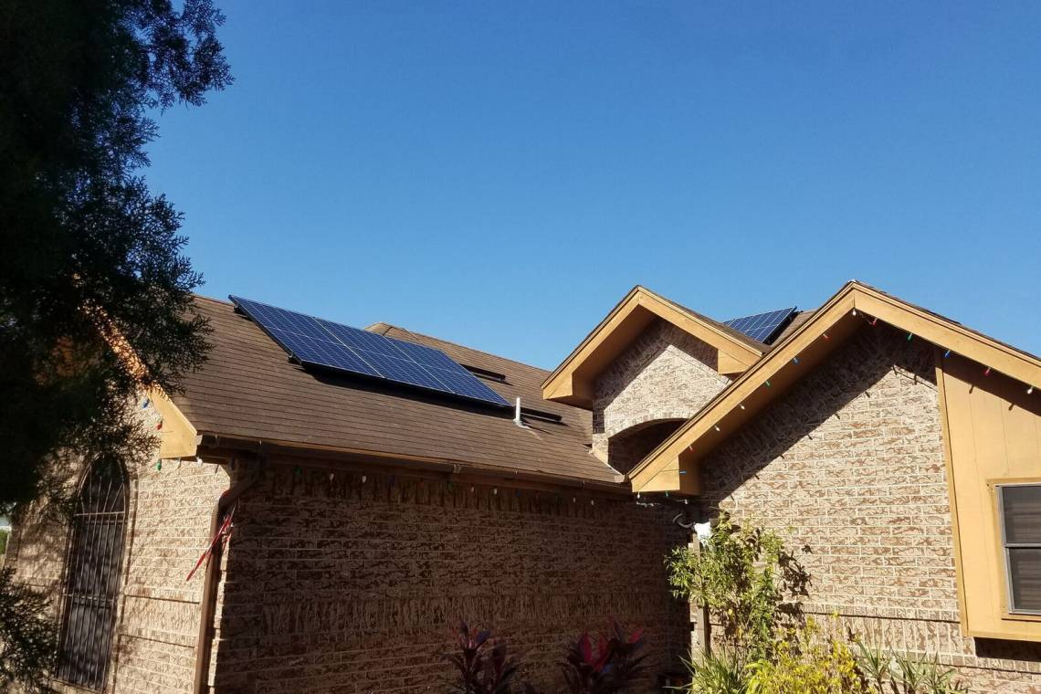 Solar Energy System in McAllen, TX - SolarWorld Panels