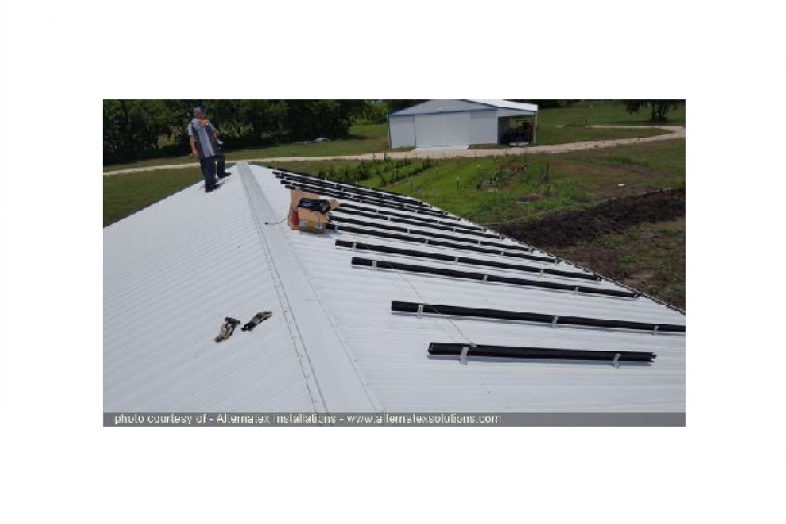Itasca, TX Solar Panel Installation - 3